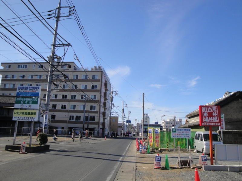 【TMO幸手(幸手市商工会)・幸せを手にする街】-横丁鉄道・古河