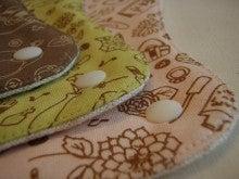 $幸せの布ナプキン『うふふわ。』-柄重ね