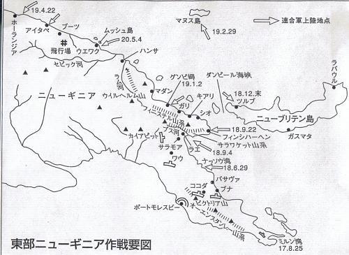 東部ニューギニア戦線鬼哭の戦場...