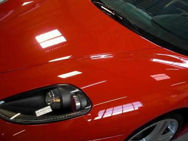 京都の女職人が書く車のブログ☆★-フェラーリ ボディーコーティング