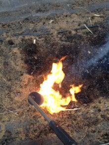 Farm LIfe - 北海道十勝平野より --焼却中