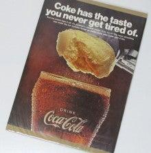 $インテリアポスター アメリカン雑貨としてアメリカ雑誌広告販売-コーラフロート