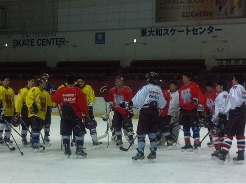 全日本アイスホッケー選手権大会に向けて練習スタート!!! | 早稲田 ...