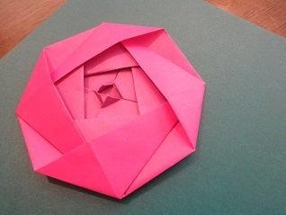 折り方 お雛様 折り紙 折り方 簡単 : 折り紙のバラとお雛様 女性と ...