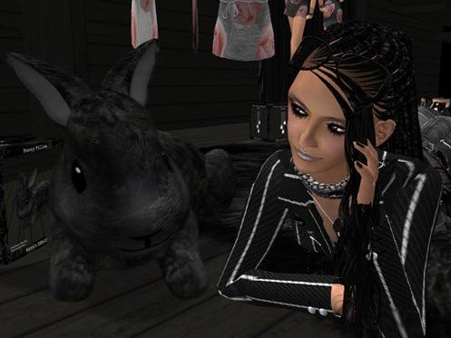 Maya's style / Second Life Fashion-バニーピロー使用例