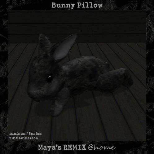 Maya's style / Second Life Fashion-バニーピロー