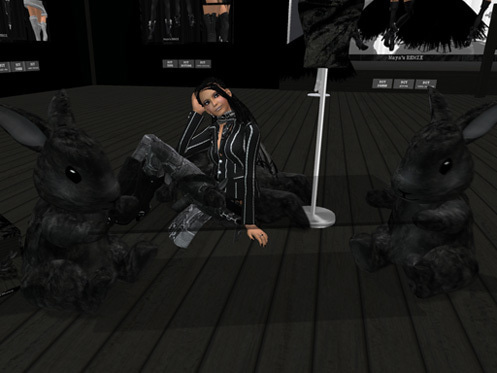 Maya's style / Second Life Fashion-テーブル使用例