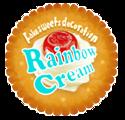 Rainbow Cream 粘土でつくるfancyスイーツデコ