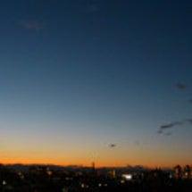 冬の夕焼け~♪