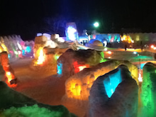 Usamixのブログ-氷濤まつり