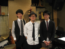 $Jazz Drummer 今村健太郎の書きたいと記-今村Trio