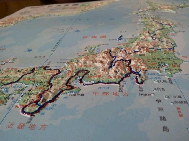 歩き人ふみの徒歩世界旅行 日本・台湾編-歩き旅ルート