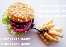 $CANDY COLOR TICKET/スイーツデコアート