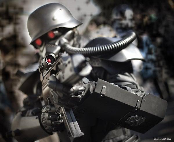 JMK's cos-photo weblog [コスプレ写真]首都圏治安警察機構警備部特殊武装機動警備大隊員,ケルベロス・サーガ,ワンフェス2012冬コメント