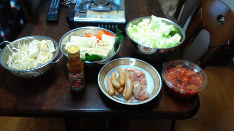 最近食べたもの(井上鍋、ぜんざい) | ごちょうのブログ