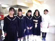 できたてロールケーキのお店 Lump(ルンプ)のブログ-2012牟呂中学校 職場訪問