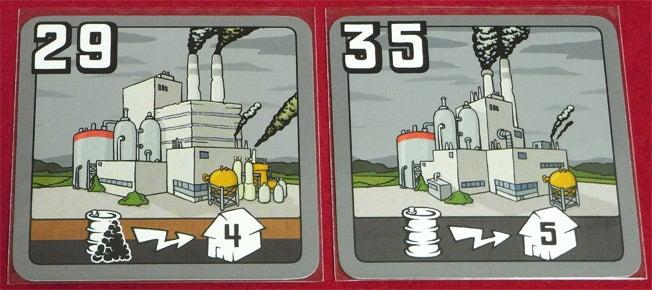 risaのボードゲームレポート-電力_発電所カード