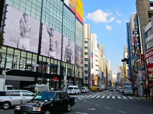 $∞最前線 通信-ベッカム@渋谷H&M