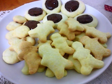 遥香の近況日記-作ったクッキー