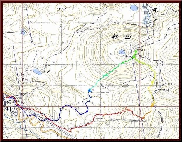 ロフトで綴る山と山スキー-0219_track