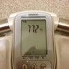 本日の体重 2012/02/20の画像