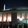 昨日は長居競技場で日本代表の応援の画像