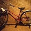 みぅみぅ☆ブログNo.138【赤い自転車♪】の画像