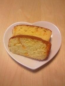 なかよし新聞 外伝 ブログ版-柚子ジャム入りパウダーケーキ