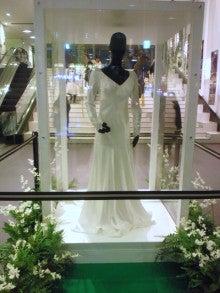 遥香の近況日記-ブレイキング・ドーンウエディングドレス前