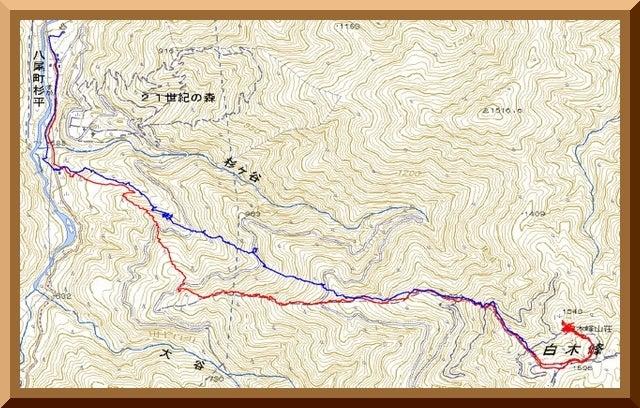 ロフトで綴る山と山スキー-120226_route