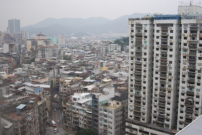 北京大学に短期留学をしました。-マカオ街並み1