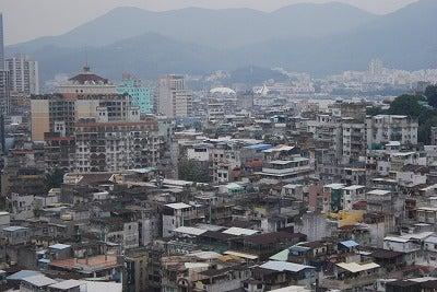 北京大学に短期留学をしました。-マカオ街並み3