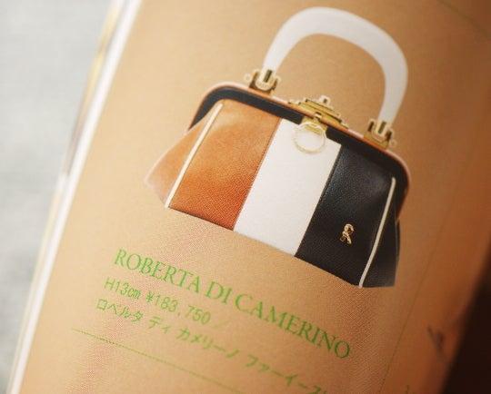 ロベルタディカメリーノ 2012年 スプリングサマー 新作 バッグ