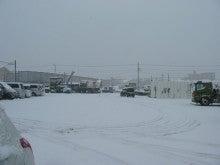 地盤補強のサポートホールド-雪化粧