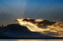 富士山鳥景写真