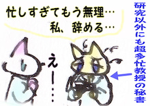 奥様はねこ ~団地妻猫とダーリン絵日記~-秘書1-4