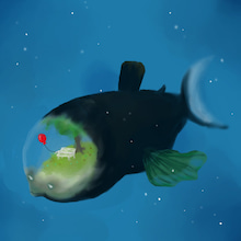[観覧注意?] デメニギス | 深海魚の空想