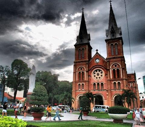 ベトナム(ホーチミン)の旅行について-聖母マリア教会