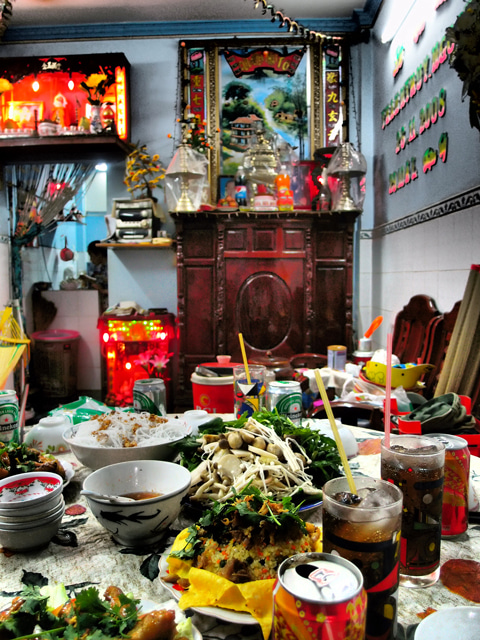 ベトナム(ホーチミン)の旅行について-ベトナム人の家