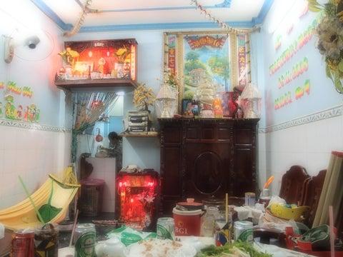 ベトナム(ホーチミン)の旅行について-ベトナムの家