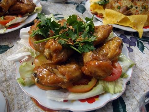 ベトナム(ホーチミン)の旅行について-鳥のニョクマム揚げ