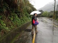 八煙野渓への舗装路