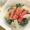 3月の薬膳 蟹とアロエのサラダ、ターメリックソースの画像