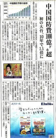 $日本人の進路-中国軍事費01