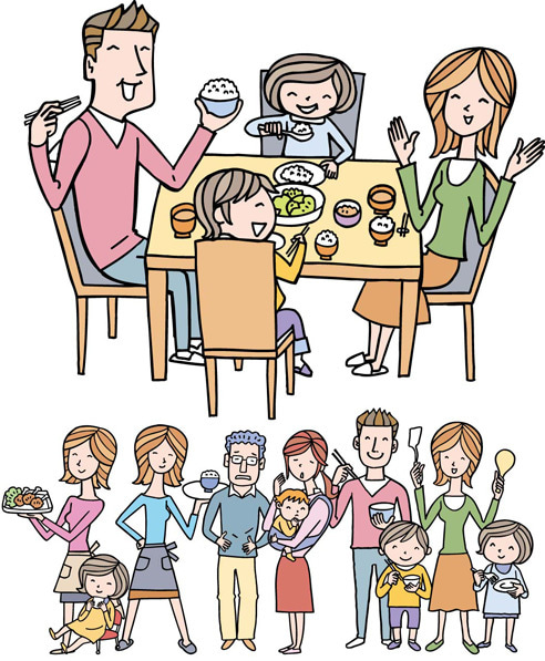 食卓を囲む家族団欒風景は今 - 調査結果 - NTTコム  …