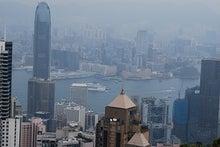 北京大学に短期留学をしました。-ビクトリーピークの眺め