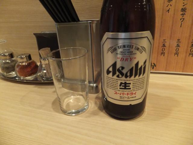 にゃほのラーメン日記(仮)-瓶ビール・中
