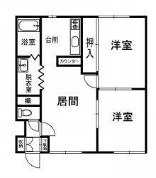 レオナ414-205間取