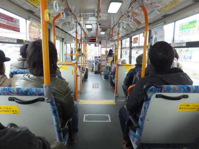 にゃほのラーメン日記(仮)-バスの中