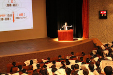 資産運用ナビオ・ファイナンススクール【キャップのブログ】-日経就活セミナーin浦和②